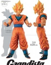 Dragon Ball Z Grandista Resolution of Soldiers Son Goku Statue