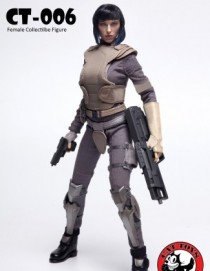 Cat Toys Ghost In the Shell 1/6TH Female Figure