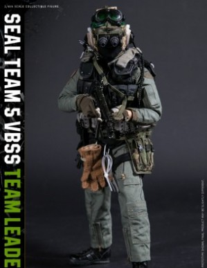 DAM History Series Seal Team 5 VBSS Leader 1/6TH Scale Figure