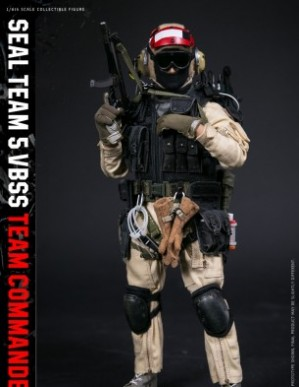 DAM History Series Seal Team 5 VBSS Commander 1/6TH Scale Figure