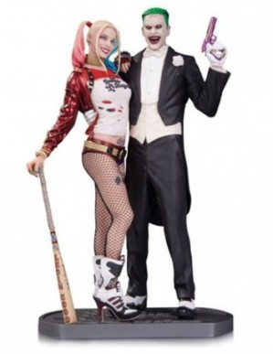 DC Collectibles Suicide Squad Joker and Harley Quinn Statue