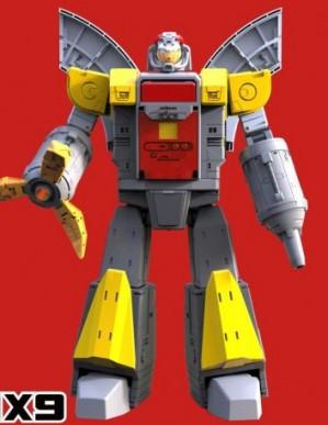 DX9 D12 Gabriel 3rd Party Robot Figure
