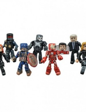 Diamond Select Marvel Minimates Series 67 Captain America: Civil War Set