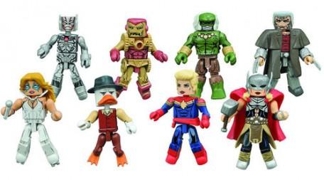 Marvel Minimates Series 64 Secret Wars Raging Ultron