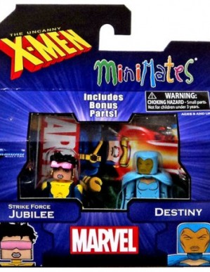 Diamond Select Marvel Minimates Jubilee and Destiny