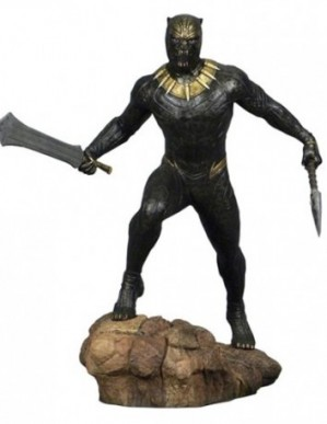 Diamond Select Marvel Gallery Black Panther Movie Killmonger Statue