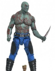 Marvel Select GOTG Vol2 Drax and Baby Groot Action Figure Set