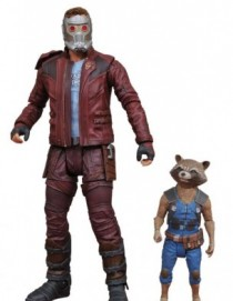 Marvel Select GOTG Vol2 Star-Lord and Rocket Action Figure Set