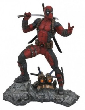 Diamond Select Marvel Premier Collection Deadpool Statue