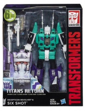 Transformers Generations Titans Return Leader Class Six Shot