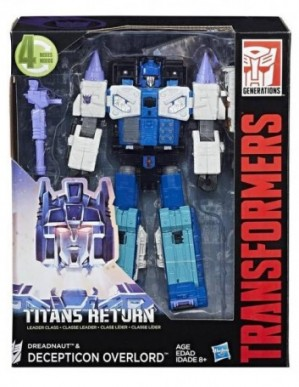 Transformers Generations Titans Return Leader Class Overlord