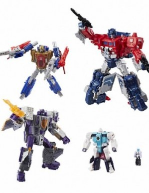 Transformers Generations Titans Return Siege On Cybertron Boxed Set