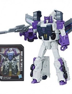 Hasbro Transformers Titans Return Voyager Class Murk and Octone