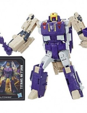 Hasbro Transformers Titans Return Voyager Class Hazard and Blitzwing