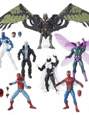 Hasbro Marvel Legends Amazing Spider-Man Wave 8 Set of 7