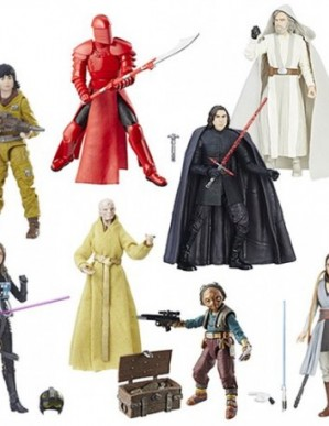 Hasbro Star Wars Black Series The Last Jedi 6-Inch Action Figure Set of 8