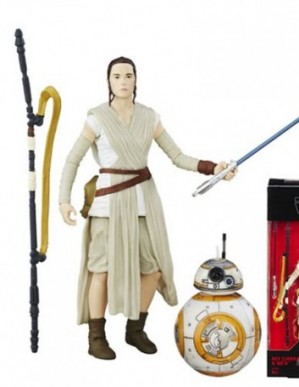 Hasbro Star Wars Black Series Rey with BB-8 6-inch Action Figure