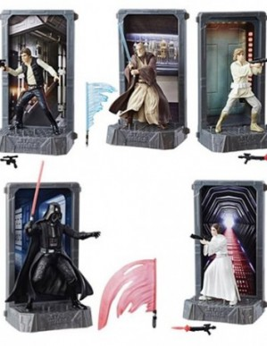 Star Wars 40th Anniversary Die-Cast Metal Figures Wave 1 Set of 5