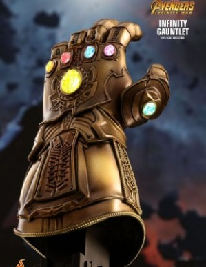 Hot Toys AVENGERS: INFINITY WAR 1/4TH Scale INFINITY GAUNTLET