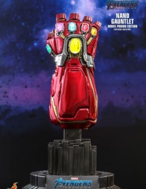 Hot Toys AVENGERS: ENDGAME 1/4TH SCALE NANO GAUNTLET