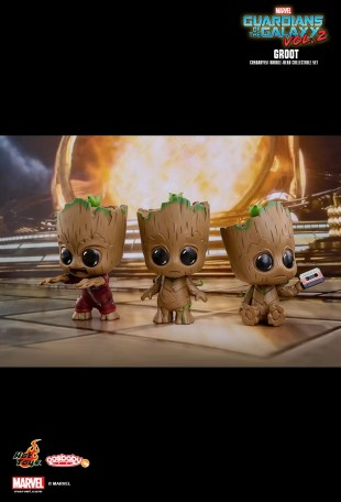GROOT COSB375 Hot Toys Cosbaby GUARDIANS OF THE GALAXY VOL.2