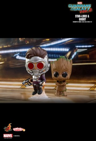 star lord with groot