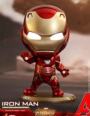 Hot Toys - COSB430 - Avengers: Infinity War - Cosbaby(S) Bobble-Head - Iron Man Mark L