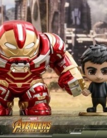 Hot Toys COSB440 Avengers: Infinity War Hulkbuster and Bruce Cosbaby Set