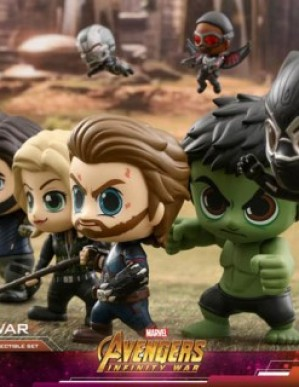 Hot Toys Avengers Infinity War The Earth Team Cosbaby Set