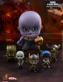 Hot Toys COSB451 Avengers: Infinity War Thanos and Black Order Cosbaby Set
