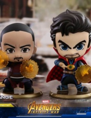 Hot Toys COSB467 Avengers: Infinity War Dr Strange and Wong Cosbaby Set