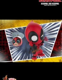 Hot Toys Deadpool Headpool and Deadpool Cosbaby