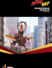 Hot Toys ANT-MAN AND THE WASP ANT-MAN WITH FLYING ANT Cosbaby Set