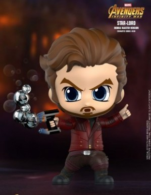Hot Toys AVENGERS: INFINITY WAR Star-Lord Bubble Blaster Cosbaby
