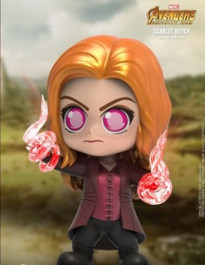 Hot Toys AVENGERS: INFINITY WAR Scarlet Witch Cosbaby