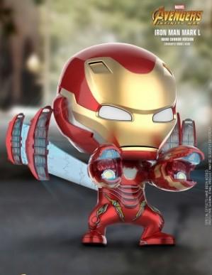 Hot Toys AVENGERS: INFINITY WAR Iron Man Mark L Nano Cannon Cosbaby