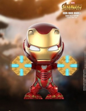 Hot Toys AVENGERS: INFINITY WAR Iron Man Mark L Power Mallet Cosbaby