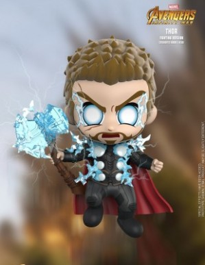 Hot Toys AVENGERS: INFINITY WAR Thor Fighting Cosbaby