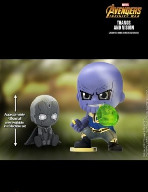 Hot Toys AVENGERS: INFINITY WAR Thanos and Vision Cosbaby