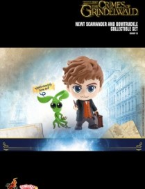 Hot Toys FANTASTIC BEASTS: TCOG Newt and Bowtruckle Cosbaby Set