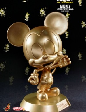 Hot Toys MICKEY MOUSE 90TH ANNIVERSARY MICKEY GOLDEN VERSION COSBABY