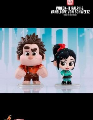Hot Toys RALPH BREAKS THE INTERNET Cosbaby Set