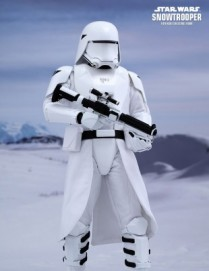 Hot Toys STAR WARS: THE FORCE AWAKENS FIRST ORDER SNOWTROOPER