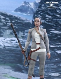 Hot Toys STAR WARS: THE FORCE AWAKENS REY RESISTANCE OUTFIT