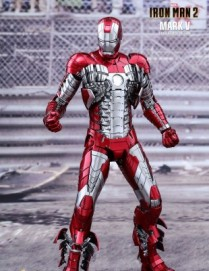 Hot Toys IRON MAN 2 MARK V 1/6TH Scale Diecast Figure