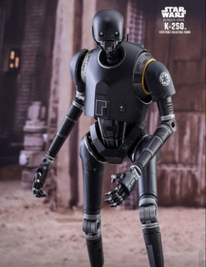 Hot Toys ROGUE ONE: A STAR WARS STORY K-2SO 1/6TH Scale Figure