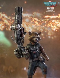 Hot Toys GUARDIANS OF THE GALAXY VOL2 ROCKET DELUXE VERSION