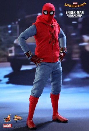 Hot Toys SPIDER-MAN HOMECOMING SPIDER-MAN HOMEMADE SUIT | Mohock New Zealand & Hot Toys SPIDER-MAN: HOMECOMING SPIDER-MAN HOMEMADE SUIT | Mohock ...
