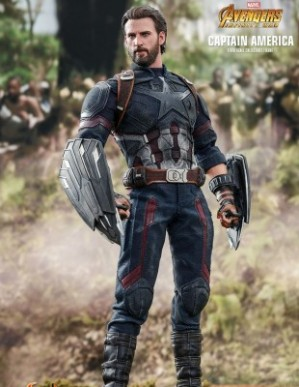 Hot Toys AVENGERS: INFINITY WAR CAPTAIN AMERICA 1/6TH Scale Figure