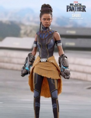 Hot Toys BLACK PANTHER SHURI 1/6TH Scale Figure